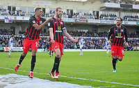 CELE - Blackburn Rovers' Charlie Mulgrew celebrates scoring the opening goal <br /> <br /> Photographer Ashley Crowden/CameraSport<br /> <br /> The EFL Sky Bet League One - Bristol Rovers v Blackburn Rovers - Saturday 14th April 2018 - Memorial Stadium - Bristol<br /> <br /> World Copyright &copy; 2018 CameraSport. All rights reserved. 43 Linden Ave. Countesthorpe. Leicester. England. LE8 5PG - Tel: +44 (0) 116 277 4147 - admin@camerasport.com - www.camerasport.com