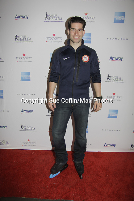 Nathan Bartholomay - Skating with the Stars - a benefit gala for Figure Skating in Harlem in its 17th year is celebrated with many US, World and Olympic Skaters honoring Michelle Kwan and Jeff Tweedy on April 7, 2014 at Trump Rink, Central Park, New York City, New York. (Photo by Sue Coflin/Max Photos)