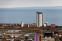 Pictured: Meridian Quay in Swansea Marina. Wednesday 22 May 2019<br /> Re: General view of Swansea, Wales, UK