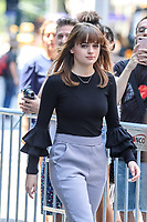 NEW YORK, EUA, 10.07.2017 -JOEY-KING - Joey King é vista no bairro do Soho na cidade de New York nesta segunda-feira, 10. (Foto: William Volcov/Brazil Photo Press)