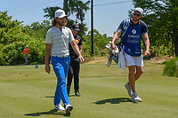 Tommy Fleetwood (ENG) heads down 2 during Round 4 of the Zurich Classic of New Orl, TPC Louisiana, Avondale, Louisiana, USA. 4/29/2018.<br /> Picture: Golffile | Ken Murray<br /> <br /> <br /> All photo usage must carry mandatory copyright credit (&copy; Golffile | Ken Murray)