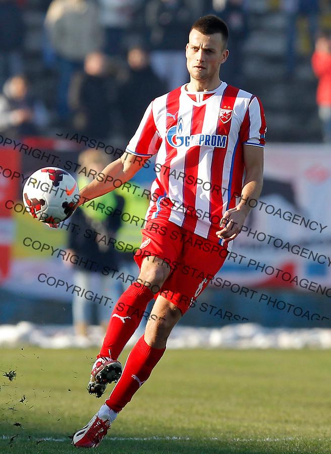 Fudbal Super liga season 2013-2014<br /> Ofk Beograd v Crvena Zvezda<br /> Jovan Krneta<br /> Beograd, 30.11.2013.<br /> foto: Srdjan Stevanovic/Starsportphoto &copy;