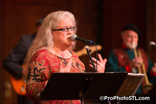 Beth Tuttle Christmas show at The Sheldon in St. Louis, MO on Nov 25, 2014.