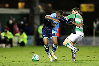 Sixteen year old. Kadeem Harris, came on as a second half substitute to make his first team debut for Wycombe during Yeovil Town vs Wycombe Wanderers, Coca Cola League Division One Football at Huish Park on 26th December 2009
