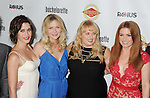 HOLLYWOOD, CA - AUGUST 23: Adam Scott, Lizzy Caplan, Kirsten Dunst, Rebel Wilson and Isla Fisher arrive at the Los Angeles premiere of 'Bachelorette' at the Arclight Hollywood on August 23, 2012 in Hollywood, California. /NortePhoto.com.... **CREDITO*OBLIGATORIO** *No*Venta*A*Terceros*..*No*Sale*So*third* ***No*Se*Permite*Hacer Archivo***No*Sale*So*third*
