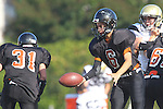 Palos Verdes, CA 09/22/11 - unknown Beverly Hills player(s) in action during the Beverly Hills vs Peninsula Frosh football game.