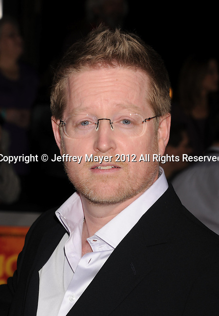 LOS ANGELES, CA - FEBRUARY 22: Andrew Stanton attends the 'John Carter' Los Angeles premiere held at the Regal Cinemas L.A. Live on February 22, 2012 in Los Angeles, California.