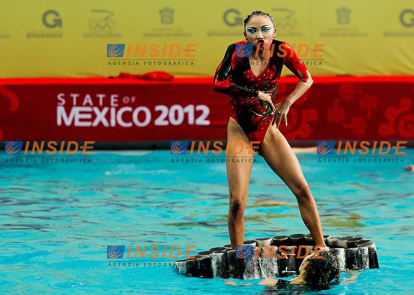 Japan JPN.Highligths event Day01 - Nov. 30.7th FINA Synchronized Swimming  World Trophy.Mexico City MEX - Nov. 30th, Dec. 2nd, 2012.Photo G.Scala/Deepbluemedia/Inside .Nuoto Sincronizzato
