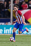 Saul Niguez Esclapez of Atletico de Madrid in action during the La Liga match between Atletico de Madrid vs Villarreal CF at the Estadio Vicente Calderon on 25 April 2017 in Madrid, Spain. Photo by Diego Gonzalez Souto / Power Sport Images