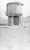 Los Pinos Tank.<br /> D&amp;RGW  Los Pinos, CO  5/23/1939