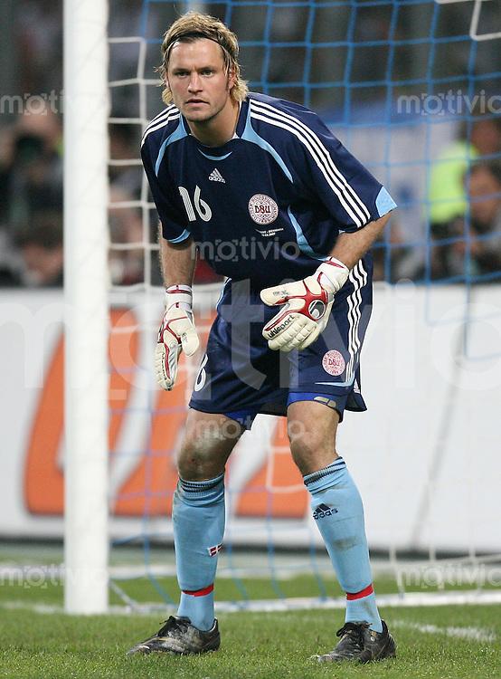 Fussball  International  2006/20007 Torwart Thomas SOERENSEN (Daenemark)
