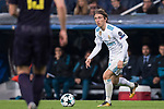 Luka Modric of Real Madrid  in action during the UEFA Champions League 2017-18 match between Real Madrid and Tottenham Hotspur FC at Estadio Santiago Bernabeu on 17 October 2017 in Madrid, Spain. Photo by Diego Gonzalez / Power Sport Images