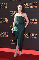 Sophie McShearer<br /> arriving for the Olivier Awards 2017 at the Royal Albert Hall, Kensington, London.<br /> <br /> <br /> &copy;Ash Knotek  D3245  09/04/2017