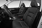 Front seat view of 2018 Honda Pilot EX-L 5 Door Suv Front Seat car photos