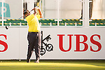 Mithun Perera of Sri Lanka tees off the first hole during the 58th UBS Hong Kong Open as part of the European Tour on 08 December 2016, at the Hong Kong Golf Club, Fanling, Hong Kong, China. Photo by Marcio Rodrigo Machado / Power Sport Images