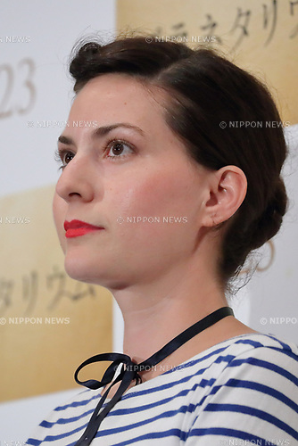 Director Rebecca Zlotowski attends the Japan premiere <br />