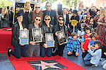 LOS ANGELES - OCT 30: Taylor Hawkins, John Densmore, , John Doe, Perry Farrell, Dave Navarro, Stephen Perkins, Chris Chaney at a ceremony where 'Jane's Addiction' was honored with a star on the Hollywood Walk of Fame on October 30, 2013 in Los Angeles, California