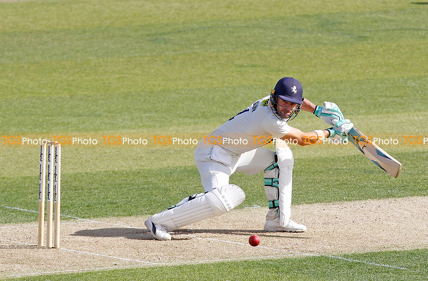 Heino Kuhn of Kent in batting action during Essex CCC vs Kent CCC, Bob Willis Trophy Cricket at The Cloudfm County Ground on 1st August 2020
