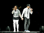SUNRISE, FL - FEBRUARY 18: Nirva Dorsaint-Ready and Seth Ready performs onstage during the 'Hits Deep Tour' at BB&T Center on February 18, 2017 in Sunrise, Florida. ( Photo by Johnny Louis / jlnphotography.com )