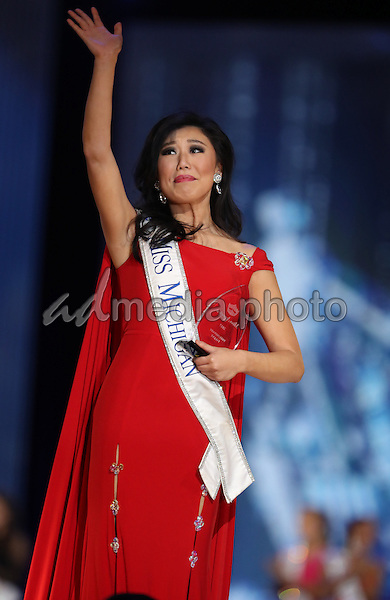 08 September 2016 - Atlantic City, New Jersey - Miss Michigan, Arianna Quan.  2017 Miss America Preliminary Competition, Day 3, at Boardwalk Hall. Photo Credit: MJT/AdMedia