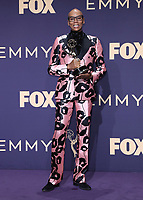 LOS ANGELES - SEPTEMBER 22:  RuPaul with the award for Outstanding Competition Program at the 71st Primetime Emmy Awards at the Microsoft Theatre on September 22, 2019 in Los Angeles, California. (Photo by Xavier Collin/Fox/PictureGroup)