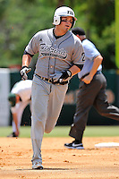 5 June 2010:  FIU's Tim Jobe (26) runs the bases after hitting a two-run home run in the second inning as the Dartmouth Green Wave defeated the FIU Golden Panthers, 15-9, in Game 3 of the 2010 NCAA Coral Gables Regional at Alex Rodriguez Park in Coral Gables, Florida.