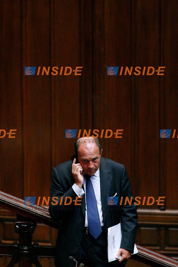 Alfonso Papa.Roma 13/06/2012 Camera. Informativa urgente del Premier sul Consiglio Europeo del 28 Giugno..Photo Samantha Zucchi Insidefoto