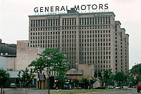 Detroit:  General Motors Building on Grand Boulevard.  Albert Kahn & Assoc., 1922.