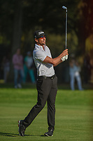 Rafael Cabrera Bello (ESP) watches his approach shot on 18  during round 3 of the World Golf Championships, Mexico, Club De Golf Chapultepec, Mexico City, Mexico. 3/3/2018.<br /> Picture: Golffile | Ken Murray<br /> <br /> <br /> All photo usage must carry mandatory copyright credit (&copy; Golffile | Ken Murray)