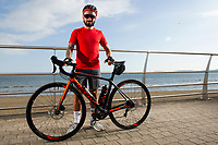 2018 07 26 Leon Britton by Swansea Bay, Wales, UK