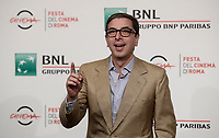 Il direttore artistico della Festa del Cinema di Roma Antonio Monda posa durante un photocall nella giornata iniziale della Festa del cinema di Roma 26 ottobre 2017.<br /> Rome Film Festival's artistic director Antonio Monda poses for a photocall during the international Rome Film Festival at Rome's Auditorium, October 26.<br /> UPDATE IMAGES PRESS/Isabella Bonotto