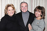"Lorna Luft with William Bratton attending  the press reception for ""Songs My Mother Taught Me: The Judy Garland Songbook"" at Feinsteins in New York City."