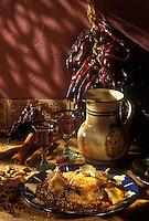 Amérique du Nord/Mexique/Mexico: Mole Poblanco - en fait le mole est la sauce qui sert à cuisiner les morceaux de poulet