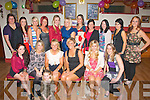 FAB FORTY: Andrea O'Connor, Casements Av, Tralee (seated centre) celebrating her 40th birthday last Saturday night in the John Mitchell's GAA clubhouse, Tralee with her hubby Noel, children Robbie and Ciara and many friends and family.