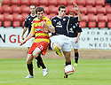 14/08/2010   Copyright  Pic : James Stewart.sct_jsp001_partick_th_v_dundee  .::  IAN FLANNIGAN AND STEPHEN O'DONNELL CHALLENGE ::.James Stewart Photography 19 Carronlea Drive, Falkirk. FK2 8DN      Vat Reg No. 607 6932 25.Telephone      : +44 (0)1324 570291 .Mobile              : +44 (0)7721 416997.E-mail  :  jim@jspa.co.uk.If you require further information then contact Jim Stewart on any of the numbers above.........