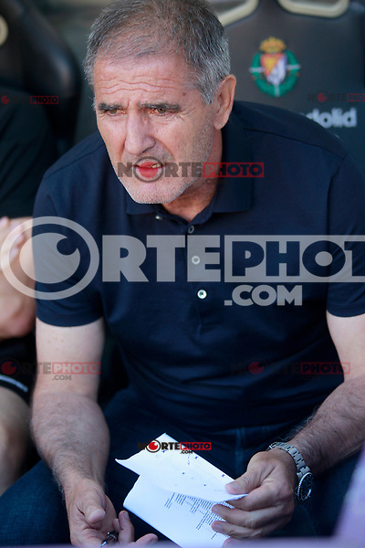 Real Valladolid's coach Paco Herrera during La Liga Second Division match. June 10,2017. (ALTERPHOTOS/Acero) (NortePhoto.com) (NortePhoto.com)