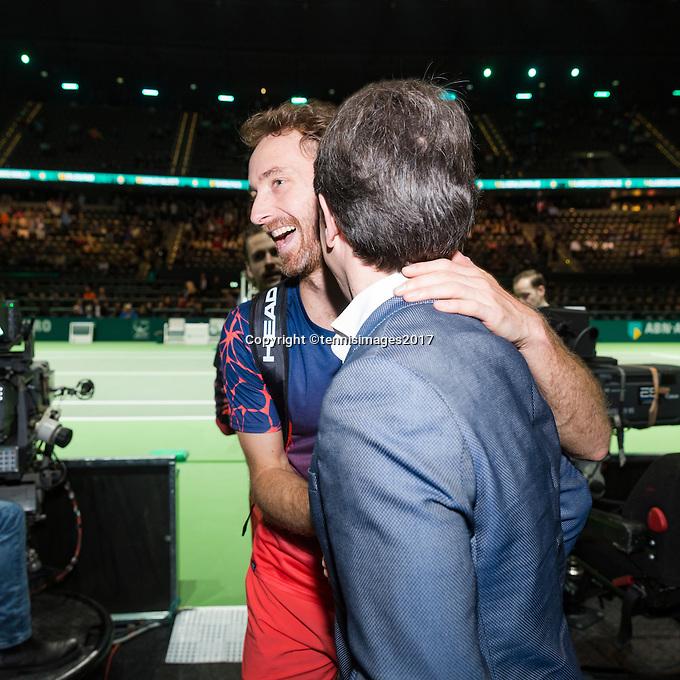 ABN AMRO World Tennis Tournament, Rotterdam, The Netherlands, 17 Februari, 2017, Matwe Middelkoop (NED)<br /> Photo: Henk Koster
