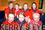 FUNDRAISER: At the fundraiser for Down Syndrome at the KDYS in Tralee on Friday last were members of the Woodbrook Ladybirds groups, front l-r: Rachel O'Sullivan, Rachel Hanafin, Eva Browne. Back l-r: Amy O'Connor, Niamh Murphy, Maria Dwyer, Orla O'Brien.   Copyright Kerry's Eye 2008