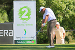 Michael Jonzon (SWE) tees off on the 2nd tee during the Final Day Sunday of the Open de Andalucia de Golf at Parador Golf Club Malaga 27th March 2011. (Photo Eoin Clarke/Golffile 2011)