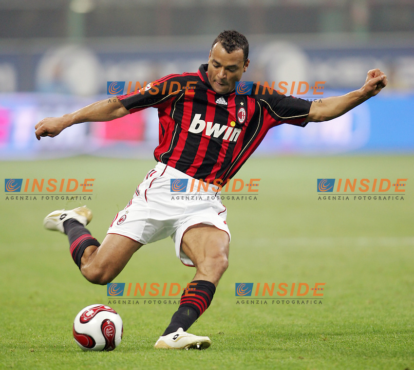 Marcos Cafu (Milan)<br /> Italian &quot;Serie A&quot; 2006-07<br /> 28 Oct 2006 (match 9)<br /> Milan Inter 3-4<br /> &quot;Giuseppe Meazza&quot; Stadium-Milano-Italy<br /> Photographer Andrea Staccioli  INSIDE