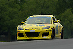 The SpeedSource Mazda RX-8 driven by Scott Schlesinger and Ken Dobson at the Emco Gears Classic at Mid-Ohio, 2006<br />