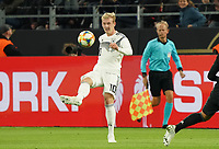 Julian Brandt (Deutschland Germany) - 09.10.2019: Deutschland vs. Argentinien, Signal Iduna Park, Freunschaftsspiel<br /> DISCLAIMER: DFB regulations prohibit any use of photographs as image sequences and/or quasi-video.