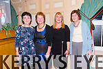 Noreen Collins (Duagh/Lyre Community Games), Geraldine McNamara (Duagh/Lyre Community Games), Philomena Bates (Duagh/Lyre Community Games), Ann O'Carroll (Duagh/Lyre Community Games)  enjoying  the Community Games Awards Dinner at the River Island Hotel Castleisland on Friday