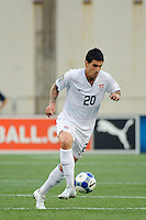 Santino Quaranta (20) of the United States (USA). The United States and Haiti played to a 2-2 tie during a CONCACAF Gold Cup Group B group stage match at Gillette Stadium in Foxborough, MA, on July 11, 2009. .