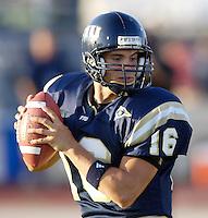 Florida International University Golden Panthers (0-5, 0-2) football versus Arkansas State University Indians (2-2, 1-0) at Miami, Florida on Saturday, September 30, 2006.  The Indians defeated the Golden Panthers 31-6...Senior quarterback Josh Padrick (16)