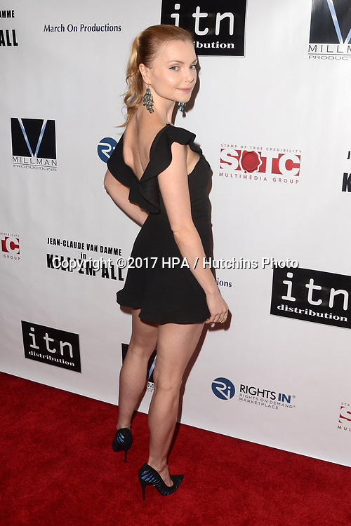 """LOS ANGELES - JUN 6:  Izabella Miko at the """"Kill 'Em All"""" Premiere at the Harmony Gold Theater on June 6, 2017 in Los Angeles, CA"""