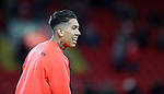 Roberto Firmino of Liverpool before the English Premier League match at Anfield Stadium, Liverpool. Picture date: December 31st, 2016. Photo credit should read: Lynne Cameron/Sportimage