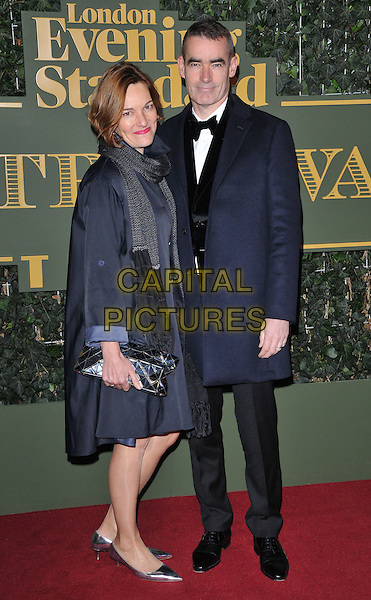 Tanya Ronder &amp; Rufus Norris attend the London Evening Standard Theatre Awards 2015, The Old Vic, The Cut, London, England, UK, on Sunday 22 November 2015.<br /> CAP/CAN<br /> &copy;CAN/Capital Pictures
