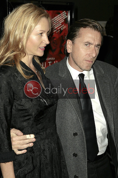Tim Roth and wife Nikki<br />