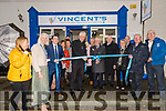 Bishop Raymond Browne officially opening the San Vincent de Paul charity shop in Dingle.